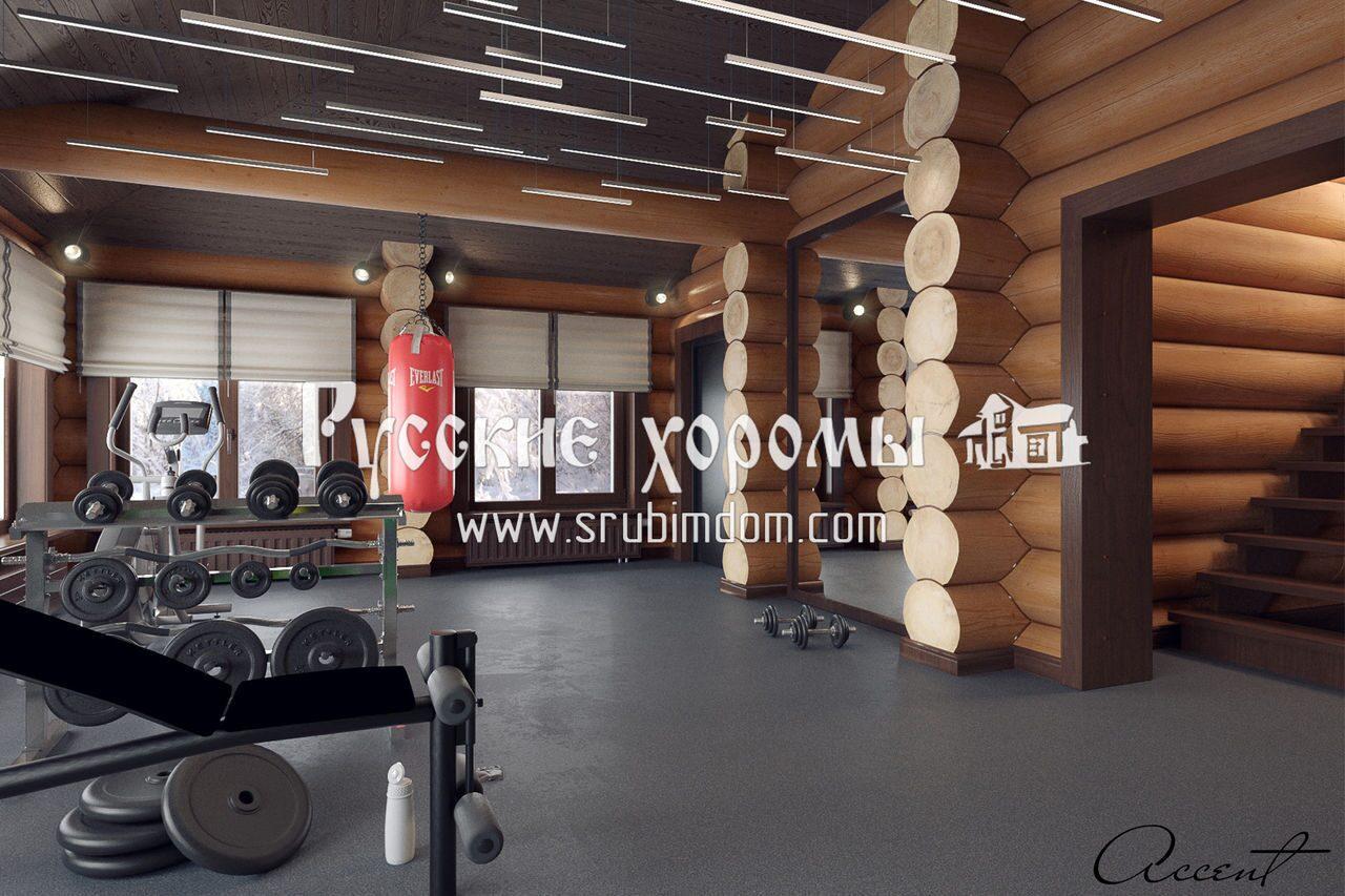 Интерьер тренажерного зала
