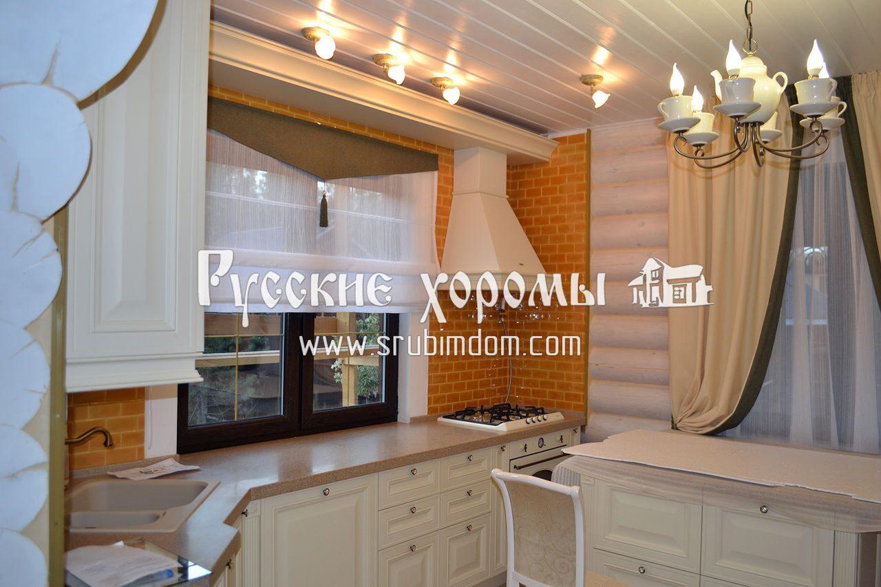 Отделка деревянного дома - принудительная вентиляция в доме из оцилиндрованного бревна