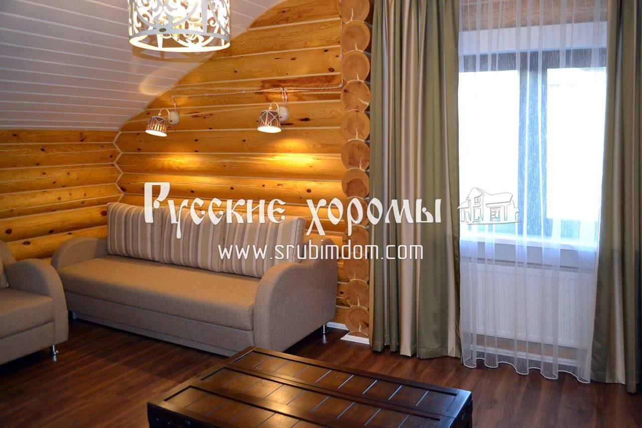 """Отделка деревянного дома - полы в """"сухих"""" помещениях сруба"""