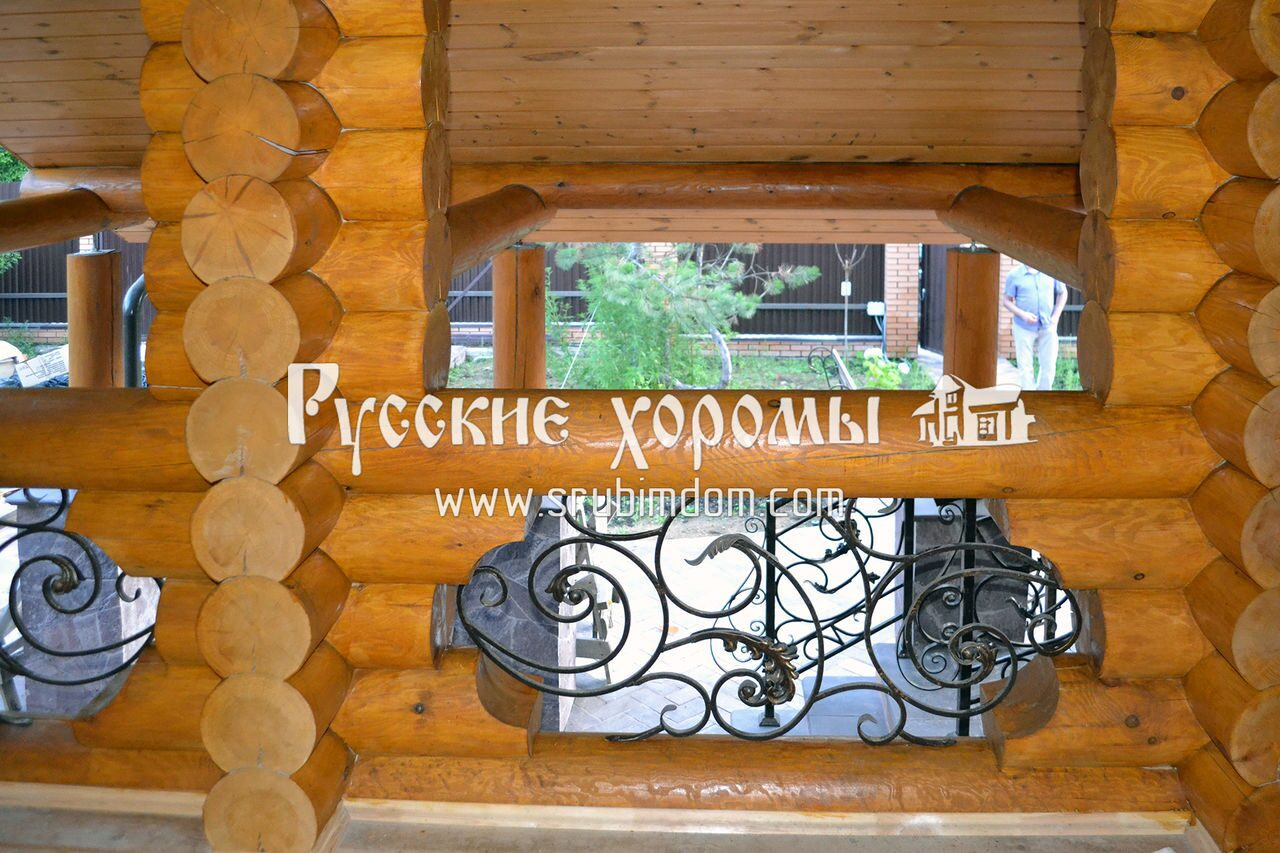 Отделка деревянного дома - лестница в деревянном доме и монтаж ограждений