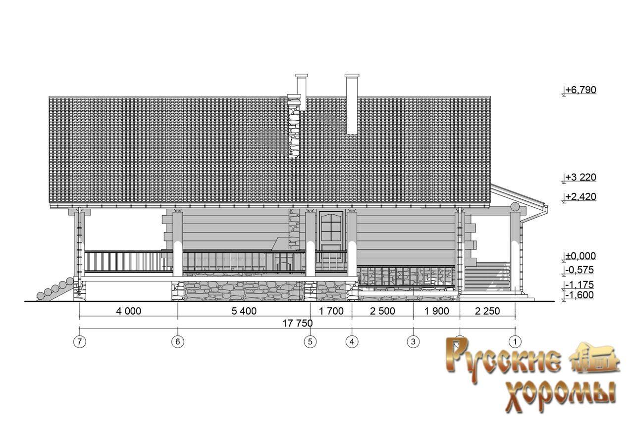 Купить недорогой дом из бруса в СПб под ключ проекты и