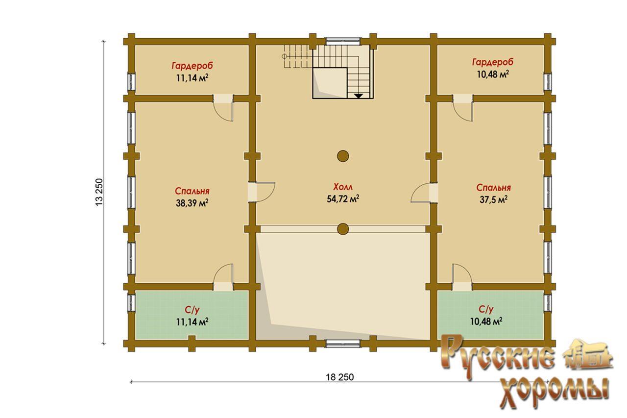 Проект базы отдыха вариант банного