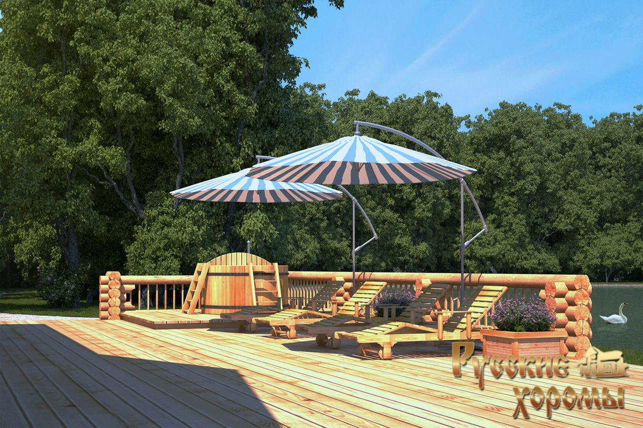 Проекты банных комплексов с бассейном