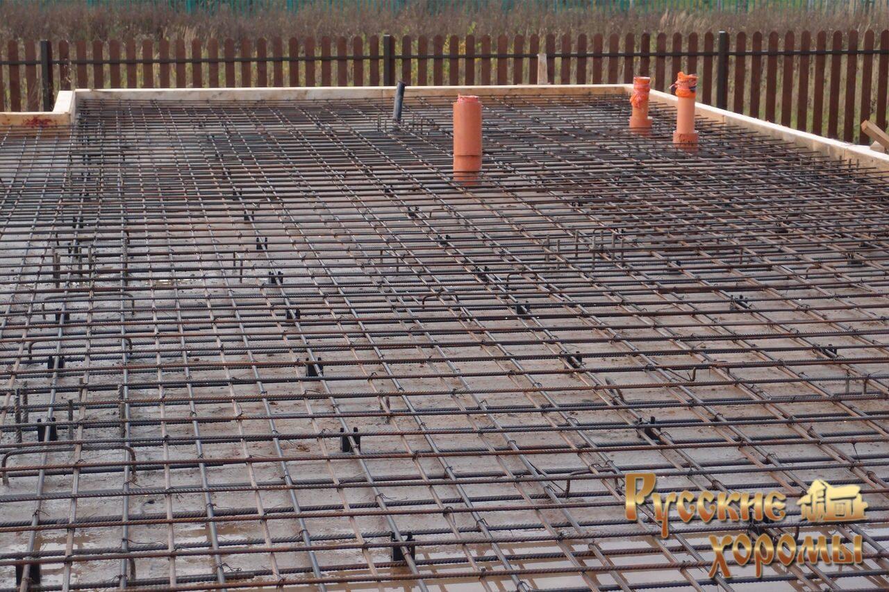 подробный фотоотчет о строительстве фундамента для деревянного дома 40