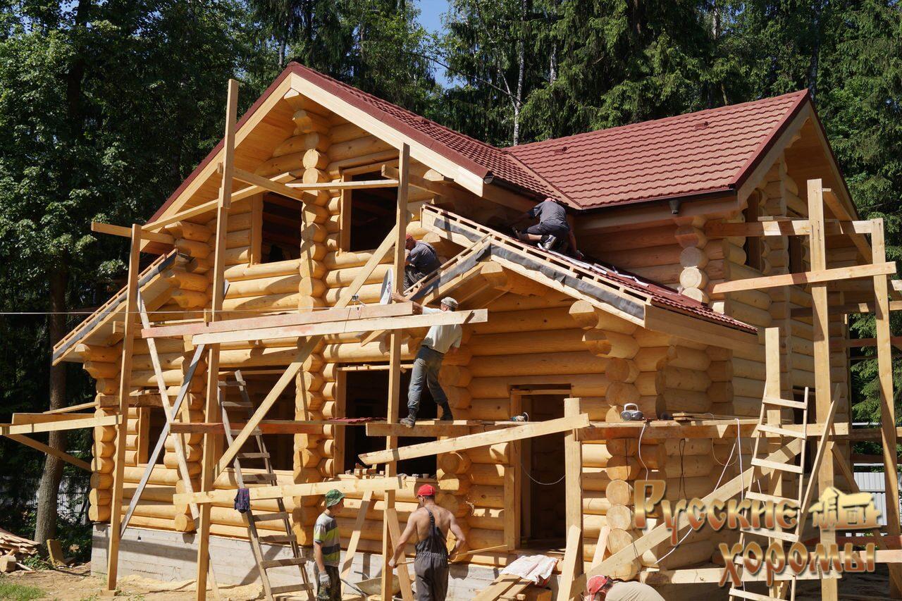 Инструкция как построить деревянный дом своими руками 52