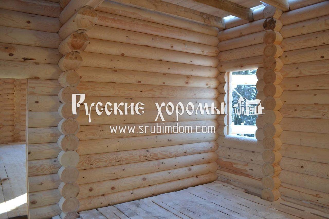 фото дома из бревна внутри фото