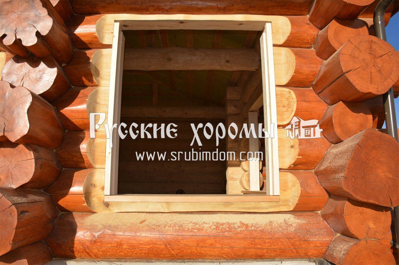 Проемы в деревянном доме своими руками