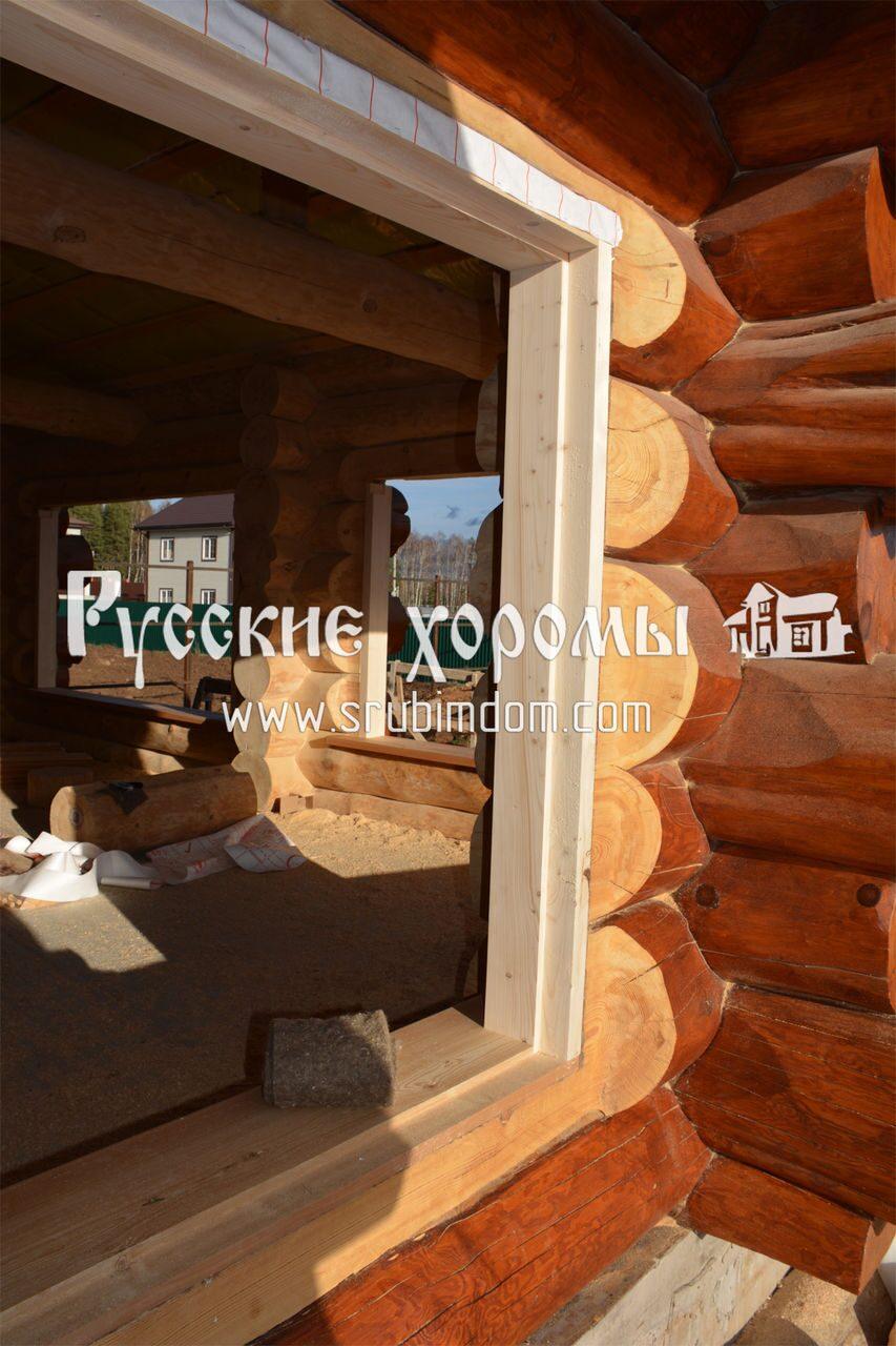Окосячка окон в деревянном доме. Как сделать окосячку своими 93