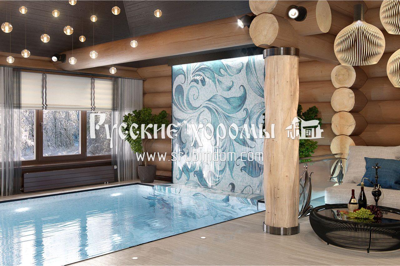 Дизайн и отделка бассейнов в деревянных домах. Прайс на работы.