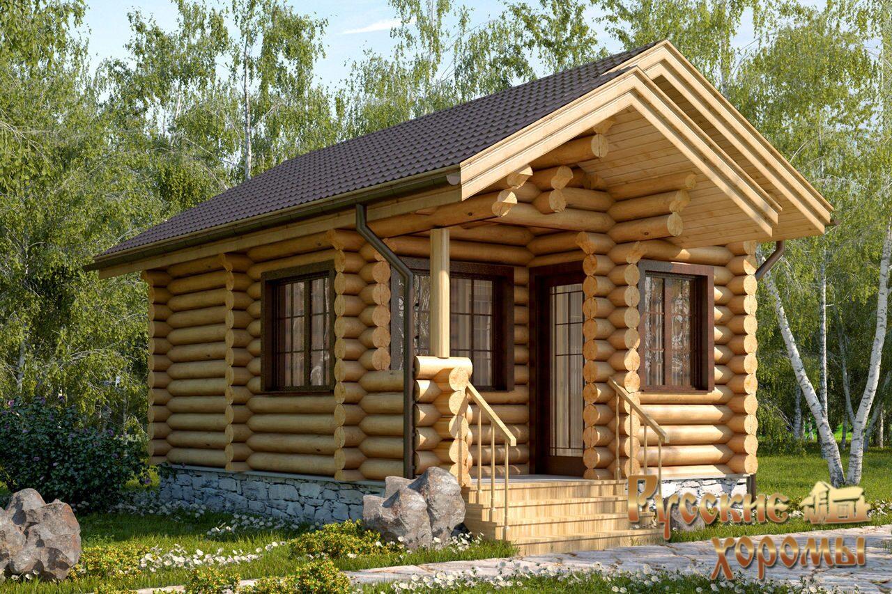 Деревянные бани проекты фото
