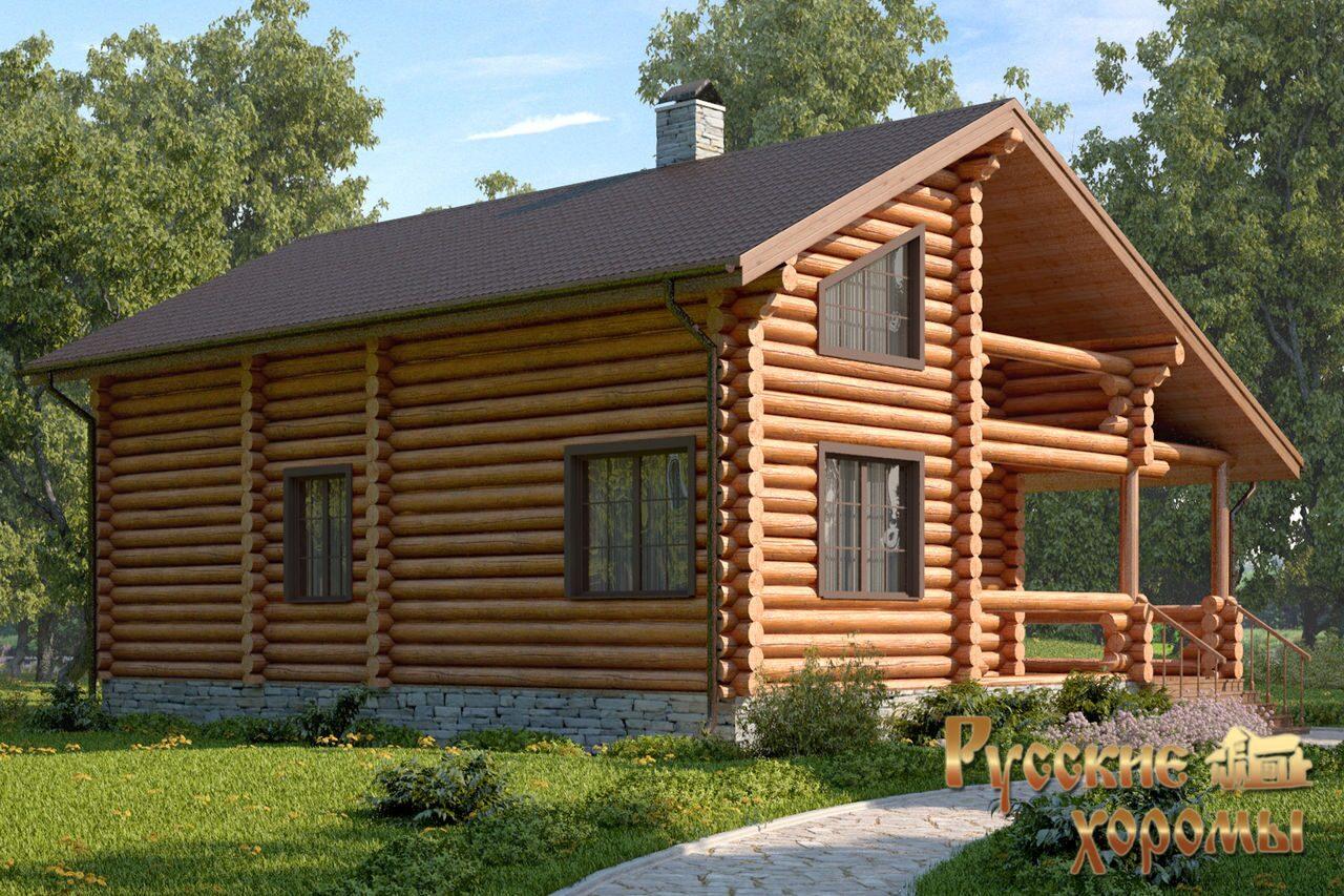 Деревянные дома проекты под ключ