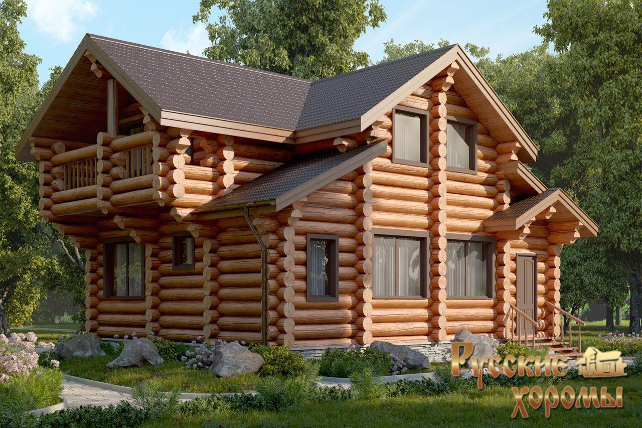 Отделка фасадов домов деревом, наружная и внутренняя