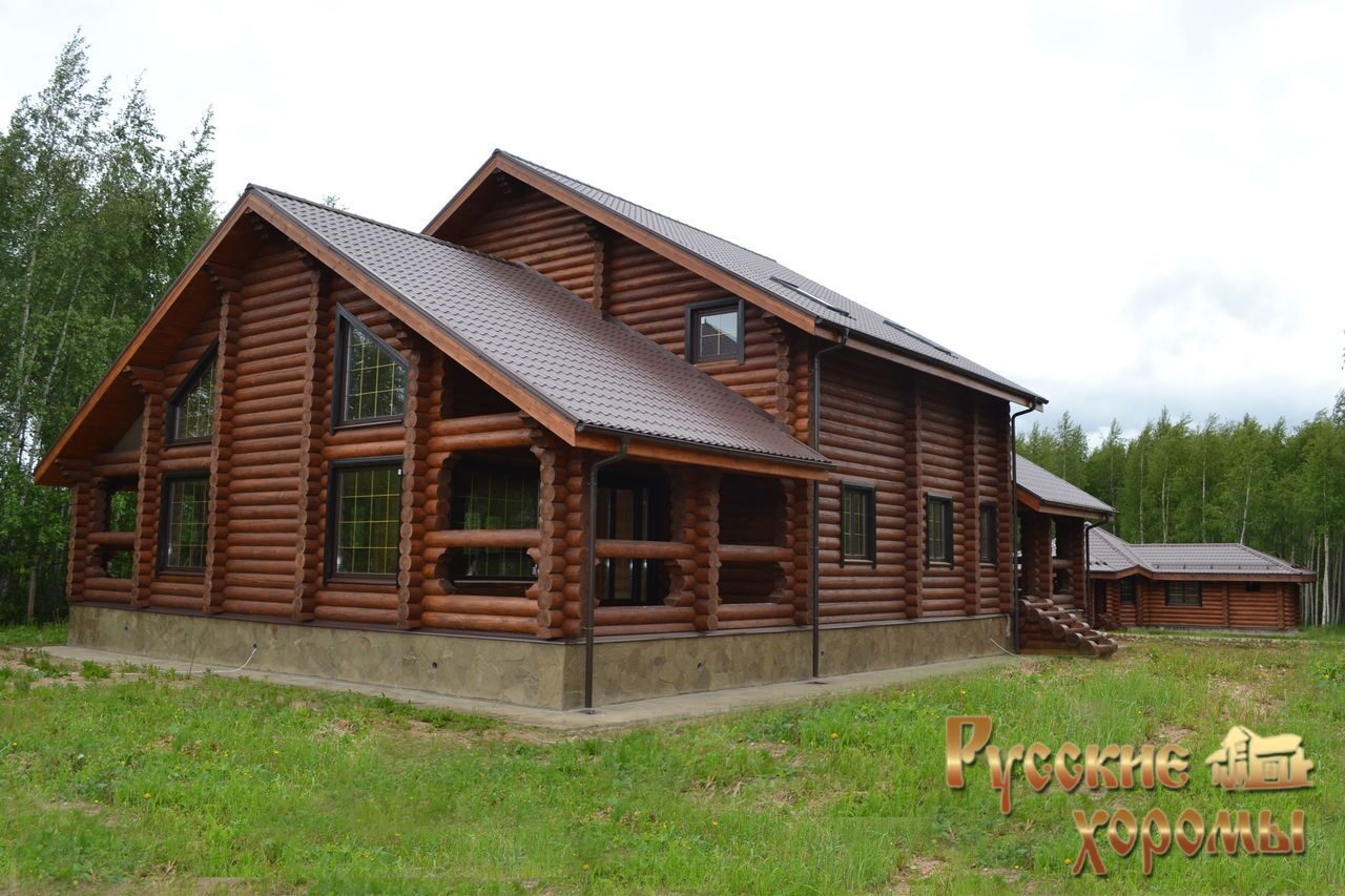 Домов из оцилиндрованного бревна