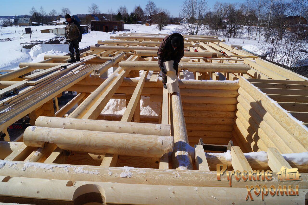 Деревянное строительство домов своими руками и проекты домов
