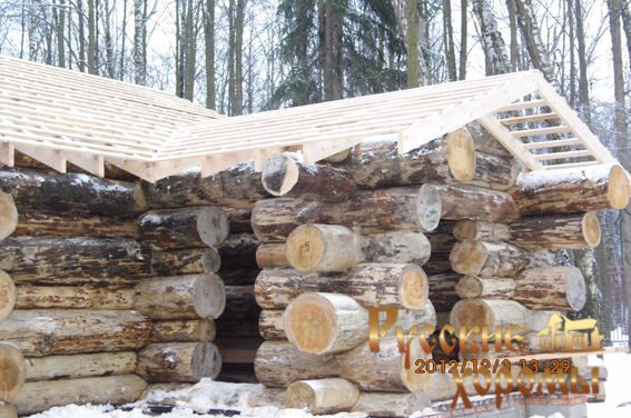 Деревянные дома в стиле дикий сруб