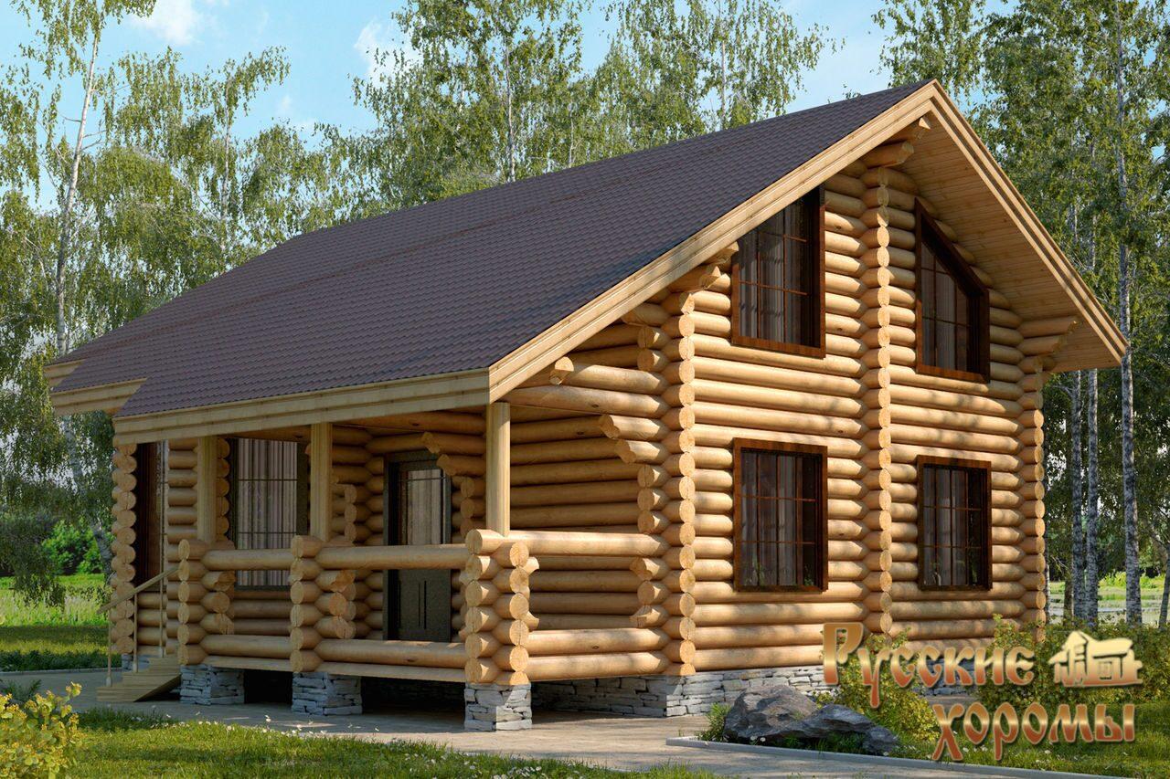 Projekti lesenih hiš iz hlodov
