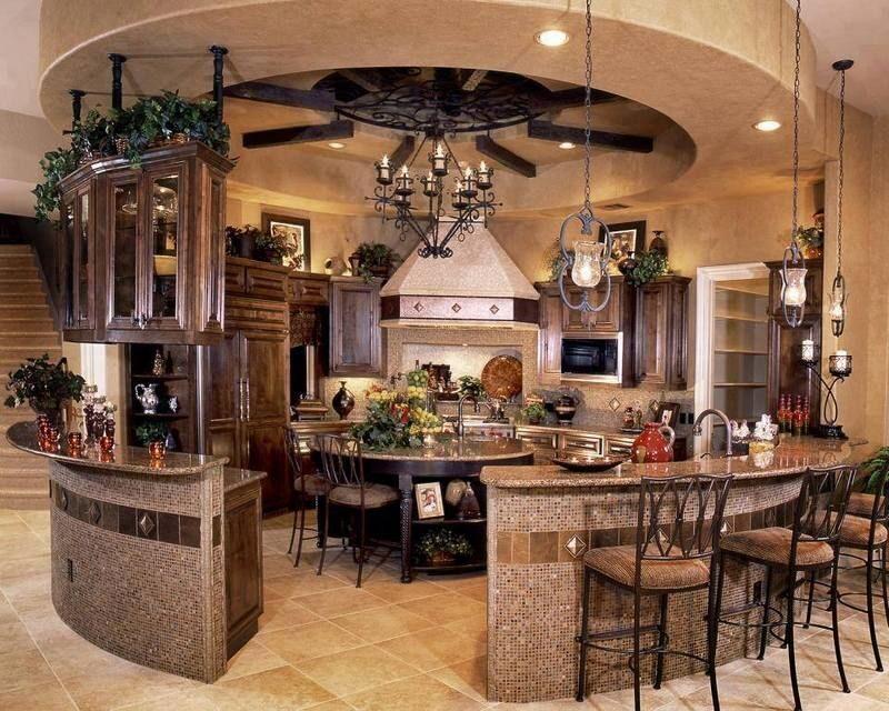Дизайн кухня моей мечты