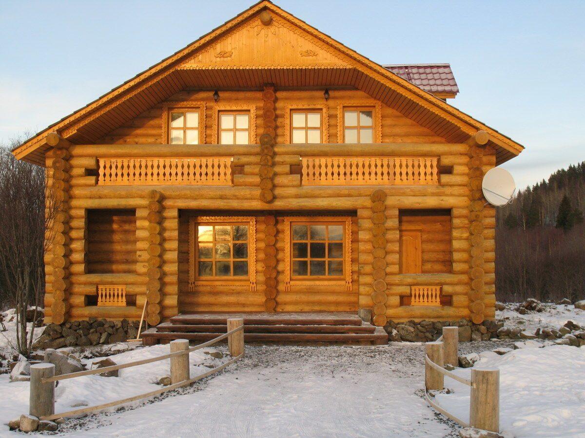 Деревянные дома новые фото