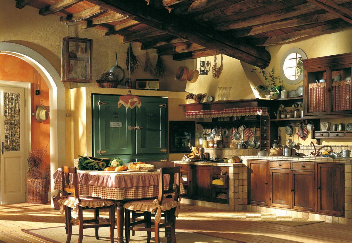 Строительство деревянных домов кухня