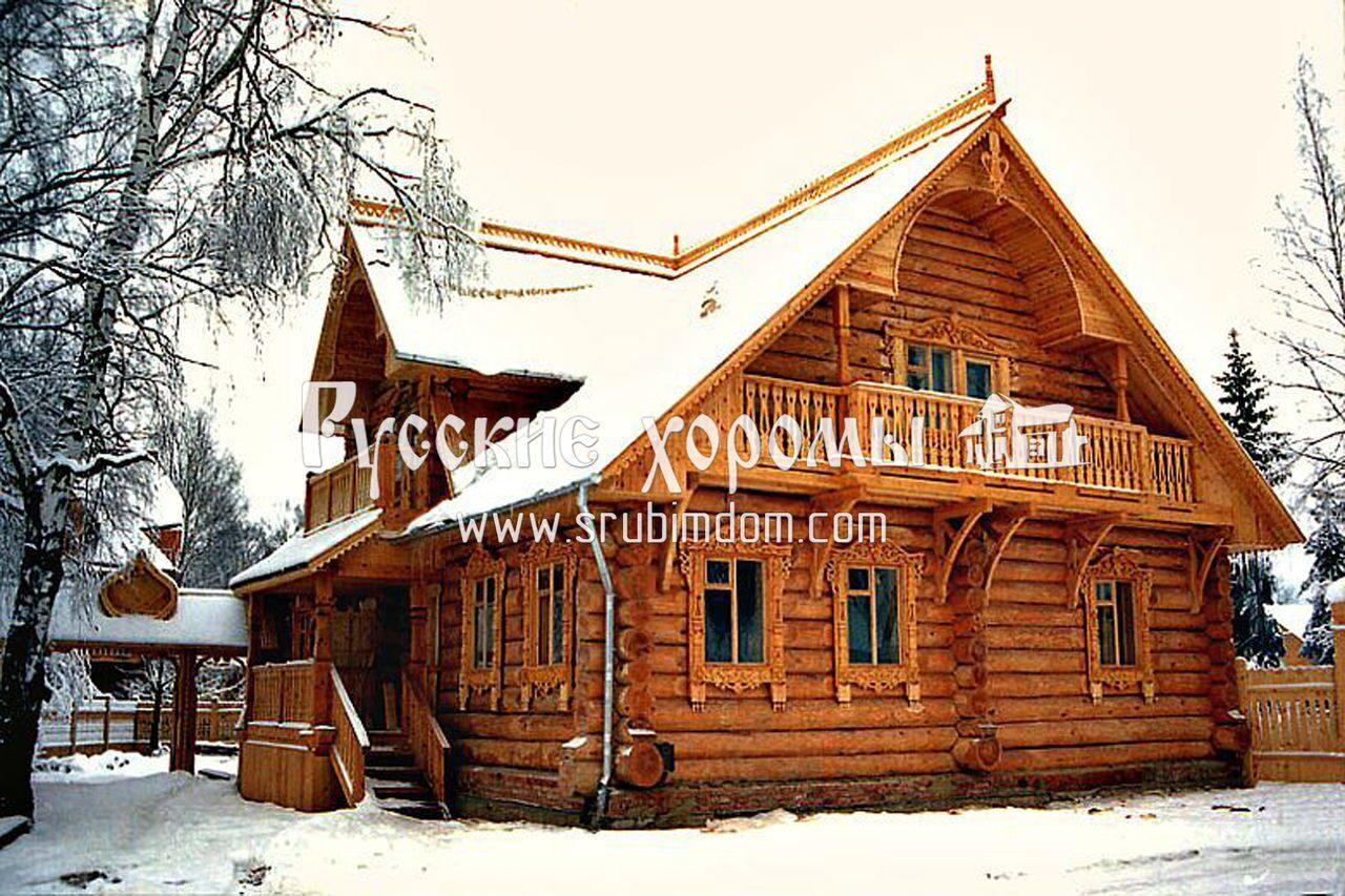 Надежный дом из бревна - опыт древних зодчих. Приметы