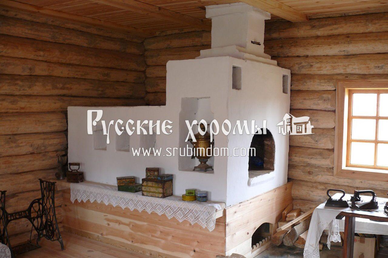 Строительство деревянного дома - закладка печи. Советы от древних зодчих