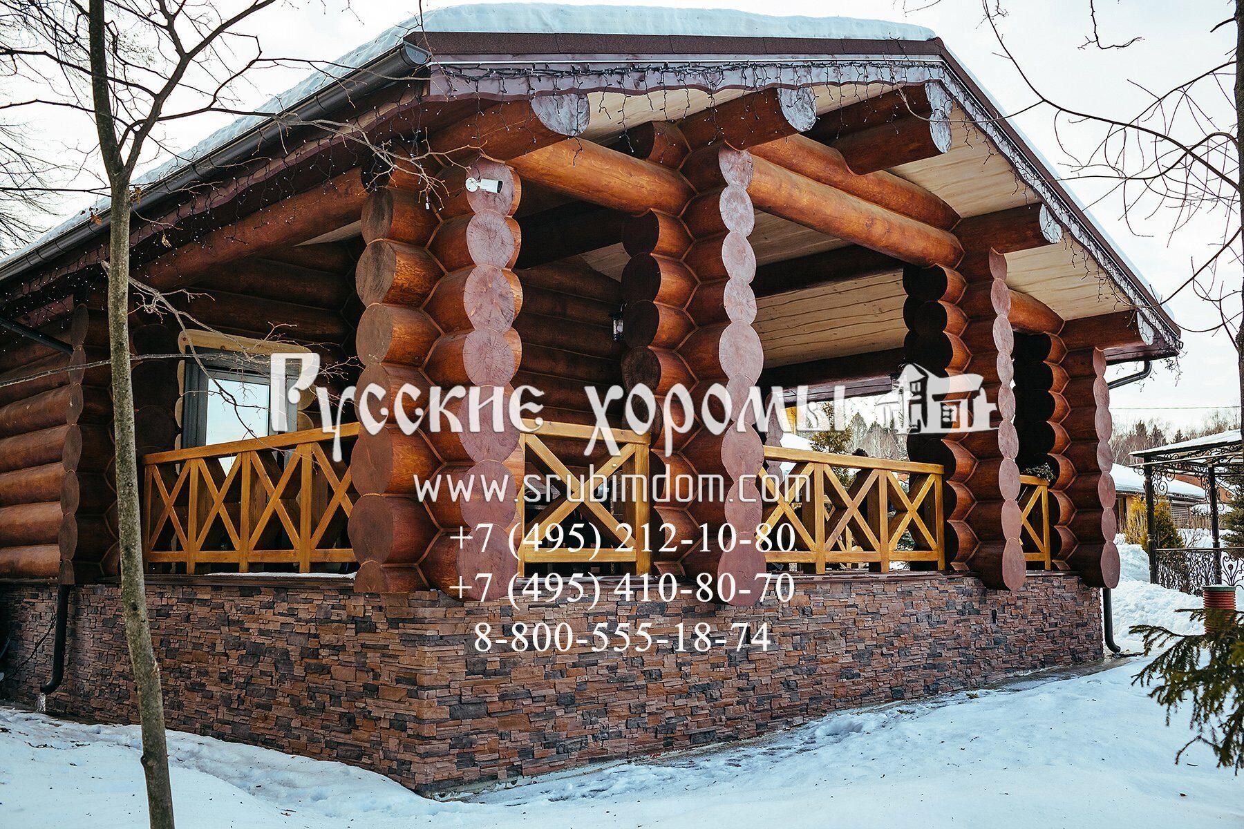 Баня под ключ - проекты от Русских Хором